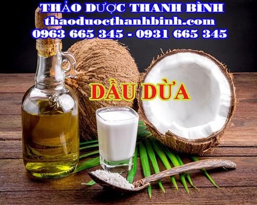 Địa điểm cung cấp dầu dừa tại Điện Biên uy tín chất lượng