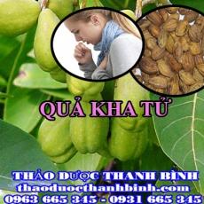 Cửa hàng bán quả kha tử tại Hà Nội giúp điều trị ho viêm họng viêm amidal tiêu đờm
