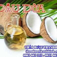 Mua bán sỉ và lẻ dầu dừa nguyên chất tại Điện Biên giá tốt nhất