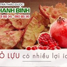 Mua bán vỏ lựu ở quận Tân Phú có tác dụng phòng chống ung thư tốt nhất